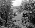 Estate of Nicholas H. Noyes, view of grounds, 1935 (Bass #231647-F)