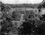 Estate of Nicholas H. Noyes, view of grounds, 1935 (Bass #231704-F)