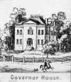 Governors house, Indianapolis, drawing (Bass #51337-F)