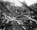 Emmerich Manual Training High School, collapsed building, November 1920 (Bass #72458-F)