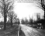 Road to Millersville along Fall Creek, 1911 (Bass #24672)