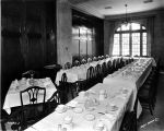 Chamber of Commerce, interior, dining room, 1926 (Bass #99375F)