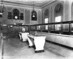 Citizens State Bank, interior, lobby and tellers' cages, 1926 (Bass #95632-F)