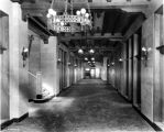 Chamber of Commerce, interior, hallway, 1926 (Bass #97707F)