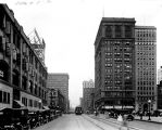 Pennsylvania Street, looking north from Washington Street, 1924 (Bass #87409-F)
