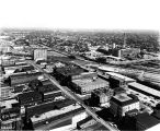 Indianapolis downtown, looking southeast,1962 (Bass #309595-1)