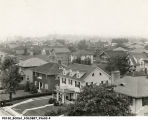 40th and Central Avenue neighborhood, looking southwest, 1926 (Bass #99603-F)