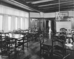 Ladywood High School, interior, dining room, 1927 (Bass #202477)