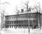 Arsenal Technical High School, Old Barracks Building, 1925 (Bass #91325-F)