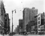 Washington Street, looking east on Delaware, 1922 (Bass #79144-F)