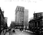 Pennsylvania Street, looking north from Washington Street, 1924 (Bass #87961-F)