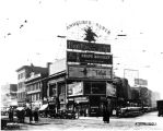 Kentucky Avenue and Illinois Street, 1925 (Bass #91167F)