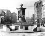Public Comfort Station for Men, Washington Street, 1911 (Bass #24723