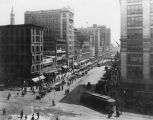 Washington Street, east of Illinios Street, 1919 (Bass #66242-F)