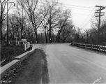 Kessler Boulevard and Spring Mill Road, 1955 (Bass #289366-F1)