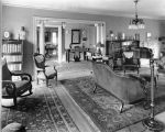 Ulysses G. Baker House, interior, 5693 North Meridian Street, 1924 (Bass #86268-F)