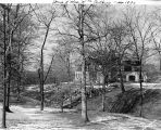 William Atkins House, Spring Hollow Road, 1929 (Bass #214348-FC)