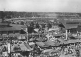 Indiana State Fairgrounds, aerial view, 1937 (Bass #142758F-Q)