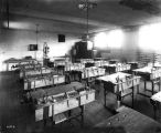 Public School no. 52, Emmerich Manual High School, interior, woodshop, 1911 (Bass #26775)