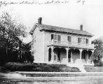 James Whitcomb Riley House, Greenfield, circa 1890 (Bass #204178-F)