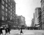 Washington and Meridian streets, 1926 (Bass #200382-F)