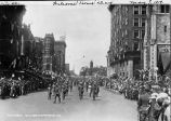 Welcome Home Day, Meridian Street, soldiers marching, 1919 (Bass #50798-F)
