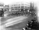 General Foch Parade, Purdue Band, 1921 (Bass #76489)