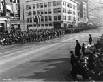 General Foch Parade, Pennsylvania Street, 1921 (Bass #76494)
