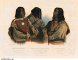 Chief of the Blood Indians; War-Chief of the Piekann Indians; Koutani Indian
