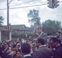 Robert F. Kennedy Speaking to a Crowd
