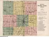 Atlas and Plat Book of Hamilton County, Indiana: containing outline map of the county, plats of all the