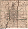 [Map of Indianapolis and Marion County townships]