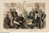 Judge - President Harrison and His Cabinet