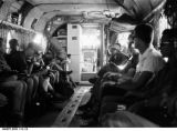 Interior of a Chinook Heliocopter