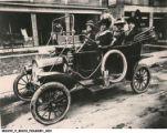 Madam Walker Driving an Automobile