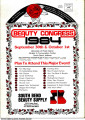 11th Annual Beauty Congress Program, 1984