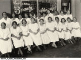Employees of the Madam C.J. Walker Beauty Shoppe in Kansas City, Missouri