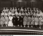 F.B. Ransom with 1939 Graduating Class