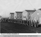 Negro Company March Drill at the First Women's Army Auxiliary Corps Training Center, Fort Des Moines,