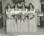 Ruth Traugott Lieberman Wedding Party