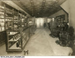 Barbers' Supply Store Interior