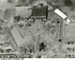 1954 Aerial View of Construction at Weir Cook Municipal Airport
