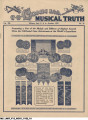 C.G. Conn Ltd., Musical Truth, Vol. XII, No. 31, October 1922
