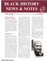 Black History News and Notes, 2004
