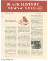 Black History News and Notes, 1989