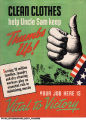 Clean Clothes Help Uncle Sam Keep Thumbs Up